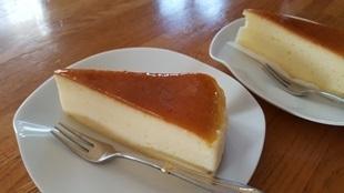 東急ストアで買ったチーズケーキ
