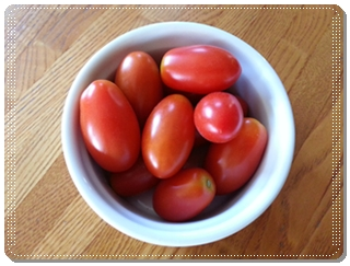 ミニトマト(アイコ)の収穫