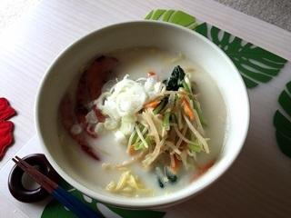 「白いラーメン」藤原製麺の即席麺(バター塩味)